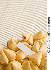 fortune cookies - fortune cookie - single cookie cracked...