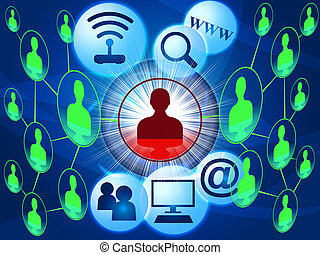 Social Media Means World Wide Web And Youtube - Social Media...