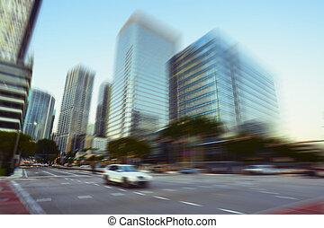 Miami Brickell Avenue - View of Miami Brickell financial...