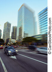 Miami Brickell Avenue - View of Miami Brickell financial...