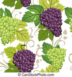 seamless texture of grapes