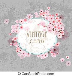 Vintage label for your design