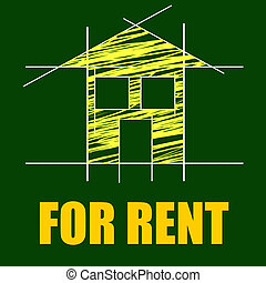 For Rent Represents Detail Architecture And Housing - For...