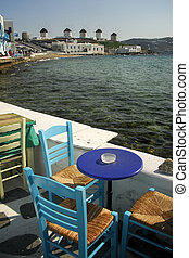 Mykonos Greece - Windmills Mykonos Cyclades Greece