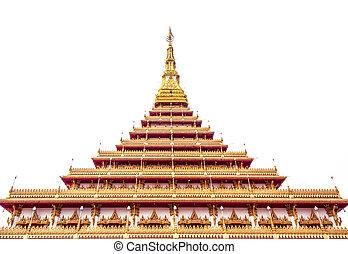 Pagoda - Relics Kaennakorn 9-storey pagoda Located in Khon...
