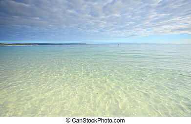 Crystal Clear waters of Jervis Bay - Crystal clear waters of...