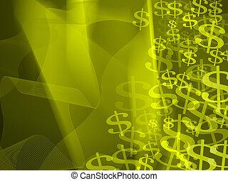 dark blue finance background