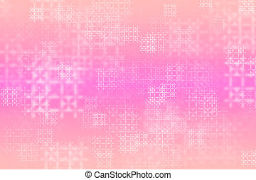 pink abstract shabby background with classy patterns