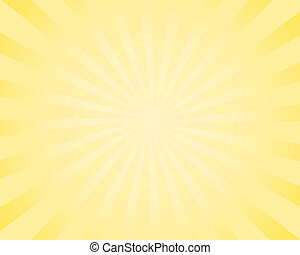 comic sunburst background