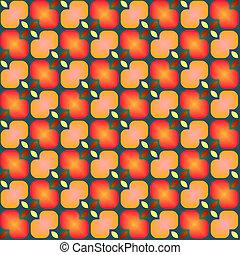 festive flower pattern