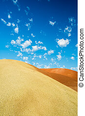 Clouds over the Painted Hills