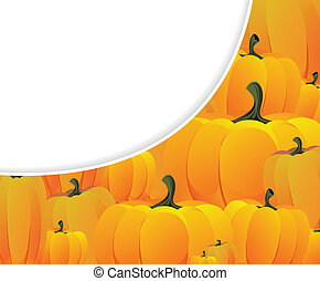 Ripe pumpkins - Pile of ripe pumpkins Halloween background