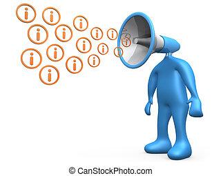 Broadcasting Information