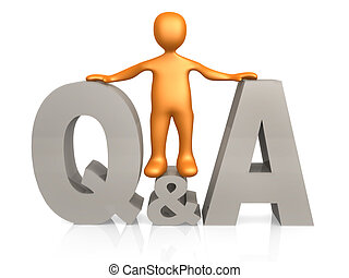 Questions & Answers - Computer generated image - Questions &...