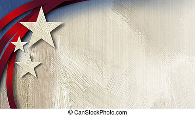 American Stars Stripes abstract background - Graphic...