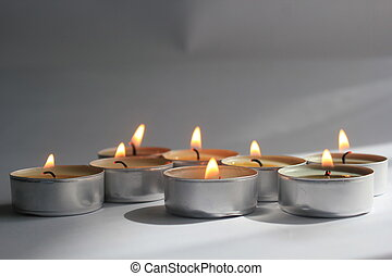 Candles - Peaceful tranquility