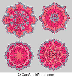 Arabesques. Decorative element. - Arabesques. Decorative...