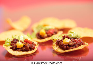 Tortillas - Delicious tex-mex tortillas with minced meat.