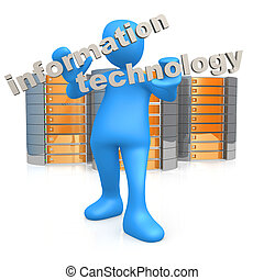 Information Technology - Computer generated image -...