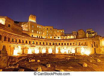 Trajan's Market, Forum Romanum, Rome