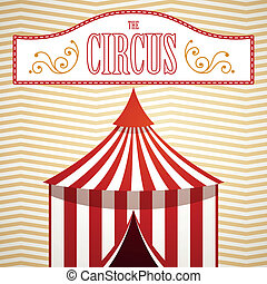 Vector Circus Background