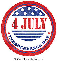 Independence Day-stamp