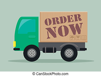 delivery truck order now
