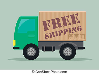 delivery truck free shipping
