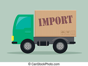 delivery truck import