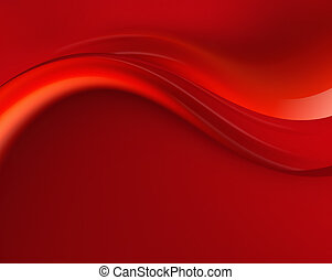 red background - abstract red background with flowing waves