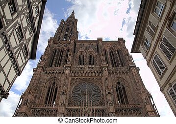 Cathedral of Our Lady. Strasbourg,