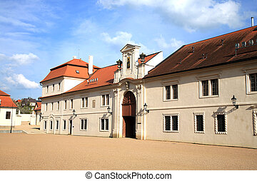 Old castle administrative buildings