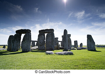 stonehenge ancient stone cirle in wiltshire, england