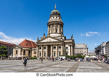 Gendarmenmarkt - The Gendarmenmarkt in Berlin (Germany).