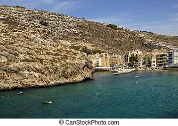 malta - small village in Malta at gozo island