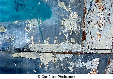 Texture From an Old Boat Hull