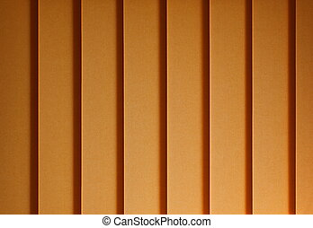 Yellow Track Blinds - Texture of yellow track blinds