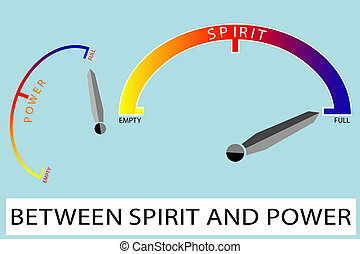 Spirit and power - Conceptual - Spirit and power