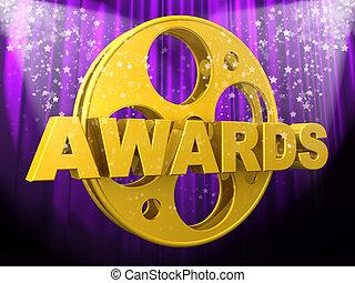 Movie Awards - Computer Generated Image - Movie Awards .