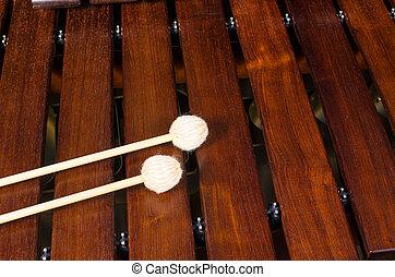 mallets, Marimba