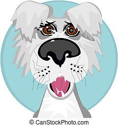 Mutt face - A silly mutt face