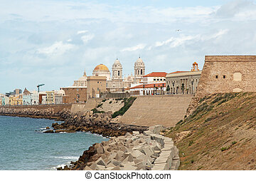 landscape of Cadiz, Spain