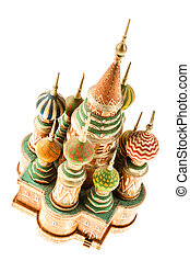 Moscow - reproduction of the Saint Basil's Cathedral in...