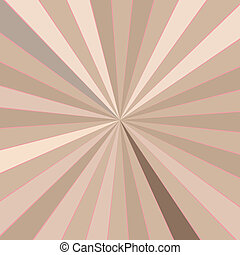Retro rays background - Retro skin tones rays background, a...