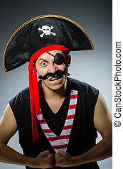 rigolote, pirate, sombre, studio