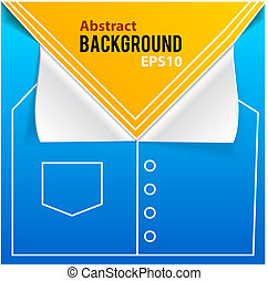 Fashion blue background with place for text