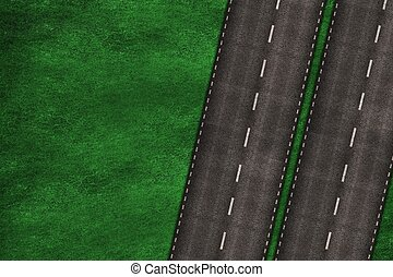 Highway Illustration