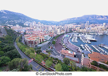 Monte Carlo   - Monte Carlo, Monaco urban view