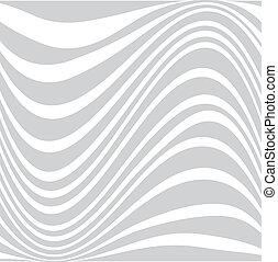 Design blue wave, Vector illustration background.
