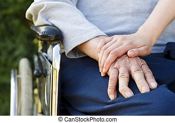 Elderly Lifestyle - Image representing the lifestyle of a...